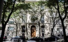 The Manhattan home of Jeffrey Epstein, who was found dead in his cell on the morning of Saturday, Aug 10, 2019. Almost a year ago, James Stewart went to Epstein's mansion to talk about Tesla, but ended up discussing much more — including Epstein's belief that sex with teenage girls should be acceptable. (Kirsten Luce/The New York Times)
