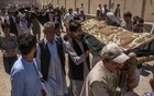 The bodies of two of the people killed Saturday during a suicide bombing at a wedding are taken to their burial in Kabul, Afghanistan, Aug 18, 2019. In Afghanistan's protracted war, weddings were one place of celebration without guilt. On Saturday, a bomber destroyed that exception. The New York Times