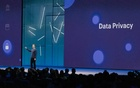 Mark Zuckerberg, Facebook's chief executive, speaks at F8, the company's annual developer conference in San Jose, Calif, May 1, 2018.