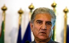 Pakistan's new Foreign Minister Shah Mehmood Qureshi listens during a news conference at the Foreign Ministry in Islamabad, Pakistan Aug 20, 2018. REUTERS/Faisal Mahmood/File Photo
