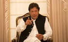 Prime Minister Imran Khan of Pakistan speaks with journalists at his residence in Islamabad, Pakistan, April 9, 2019. The New York Times