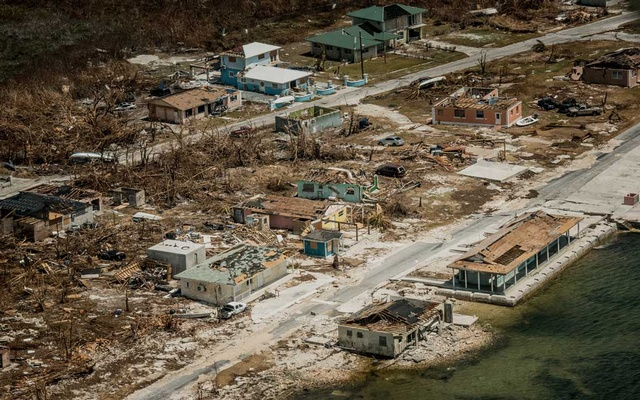 Damage on Grand Bahama after Hurricane Dorian, on Sep 7, 2019. The New York Times