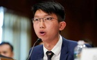 Sunny Cheung, spokesperson of the Hong Kong Higher Education International Affairs Delegation (HKIAD), testifies at a Congressional-Executive Commission on China (CECC) hearing on Capitol Hill in Washington, US, Sep 17, 2019. REUTERS