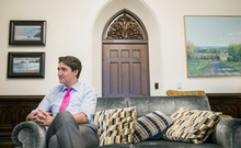 Prime Minister Justin Trudeau of Canada in his offices on Parliament Hill in Ottawa, Ontario, Canada, April 10, 2019. The New York Times.
