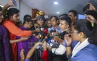 RAB Media Wing Director Lt Col Sarwar Bin Kashem and Executive Magistrate Sarwoer Alam briefing the media after a raid on the business of SM Golam Kibria Shamim, a government contractor who identifies himself as a Jubo League leader, at Dhaka's Niketan on Friday. Photo: Mahmud Zaman Ovi