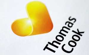 FILE PHOTO: The Thomas Cook logo is seen in this illustration photo Jan 22, 2018. REUTERS