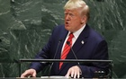 US President Donald Trump addresses the 74th session of the United Nations General Assembly at UN headquarters in New York City, New York, US, September 24, 2019. REUTERS/Lucas Jackson