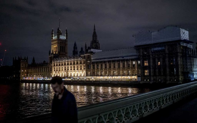 The Houses of Parliament at the Palace of Westminster in London, on Monday, Sept 9, 2019. In the early hours of Tuesday morning, the country's elected body was shut down in a ceremony that featured a rod, a mace and a few lines of Norman French. (Andrew Testa/The New York Times)