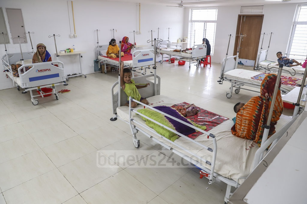 Sheikh Hasina National Institute of Burn and Plastic Surgery starts treating patients to a limited extent on Saturday marking the prime minister's birthday. Photo: Abdullah Al Momin