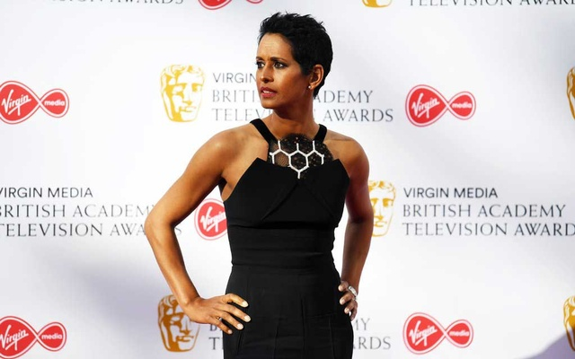 "Naga Munchetty in London in May. ""Every time I have been told, as a woman of colour, to go back to where I came from, that was embedded in racism,"" she said in July in response to a remark by Trump. The New York Times"