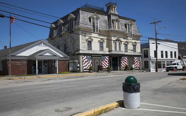 FILE PHOTO: A Victorian building on the island of Vinalhaven, Maine, where the late artist Robert Indiana lived and worked, on the town's Main Street, May 18, 2018. Indiana's will proposes the building become a museum that would honour his legacy, but residents have concerns about how it might change the character of the island. The New York Times