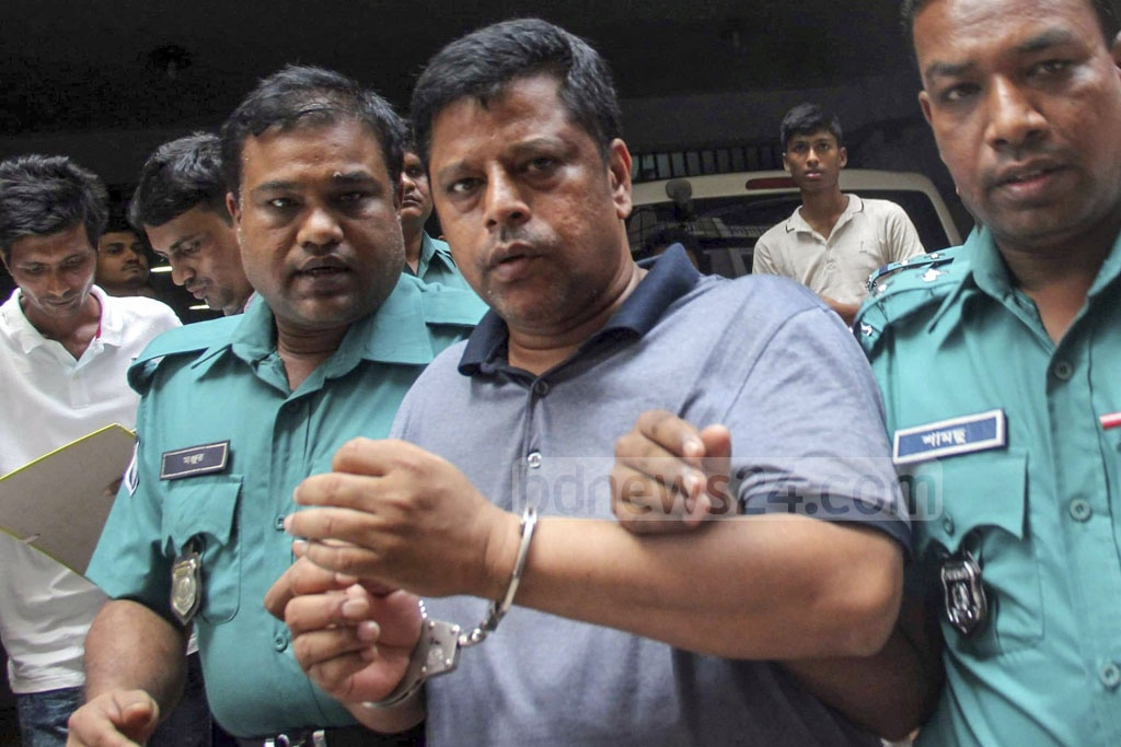 Police produced Salim Prodhan, the suspected kingpin of an online gambling platform, in court in Dhaka for permission to grill him in custody in a money-laundering case on Sunday.