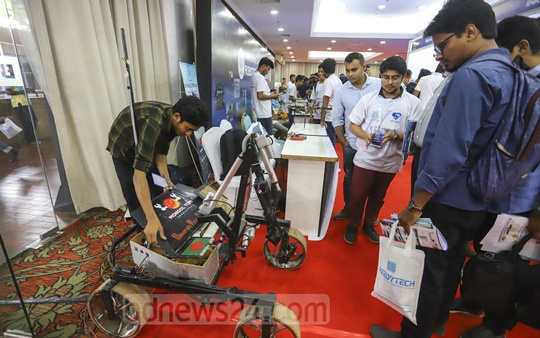 The first Digital Device and Innovation Expo 2019 got off in Dhaka's Bangabandhu International Conference Centre on Tuesday.