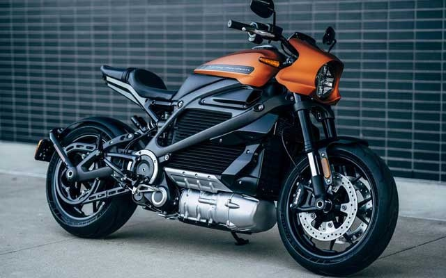 Harley-Davidson's new electric motorcycle, LiveWire, is shown in this handout photo released by Harley-Davidson. Harley-Davidson Motor Company/Handout via REUTERS