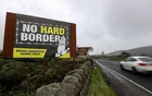 View of the border crossing between the Republic of Ireland and Northern Ireland outside Newry. REUTERS