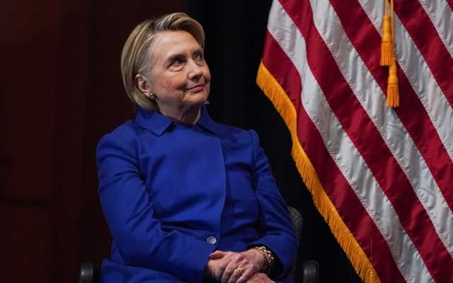 FILE -- Hillary Clinton attends an event regarding New York state legislation on reproductive rights, in Manhattan, Jan. 7, 2019. A yearslong State Department investigation into Clinton's private email server found that her use of the system for official business resulted in no systemic or deliberate mishandling of classified information. (Chang W. Lee/The New York Times)