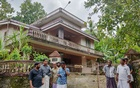 The house where Jolly Joseph lived with Roy Thomas, a husband she is now accused of poisoning, in Koodathayai, a small town in the Indian state of Kerala. The New York Times