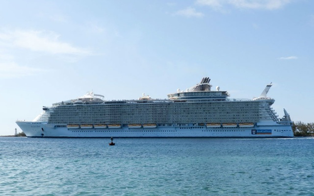 """Royal Caribbean said a passenger aboard Allure of the Seas was """"observed recklessly and dangerously posing"""" for a photo on her stateroom balcony railing. The New York Times"""