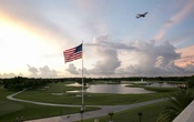 The sun sets at Trump National Doral Miami, in Doral, Fla, Sep 9, 2016. President Donald Trump knew Democrats would criticise him for choosing his own luxury golf club in Miami for the G7 summit in June, but when he heard Republicans doing it he changed his mind. The New York Times