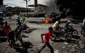 A demonstration in Les Cayes, Haiti, Oct 13, 2019. Haitians say the violence and economic stagnation stemming from a clash between the president and the opposition are worse than anything they have ever experienced. (Meridith Kohut/The New York Times)