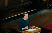 Mark Zuckerberg, the Facebook chief executive, speaks at Georgetown University in Washington, Oct 17, 2019. The New York Times.