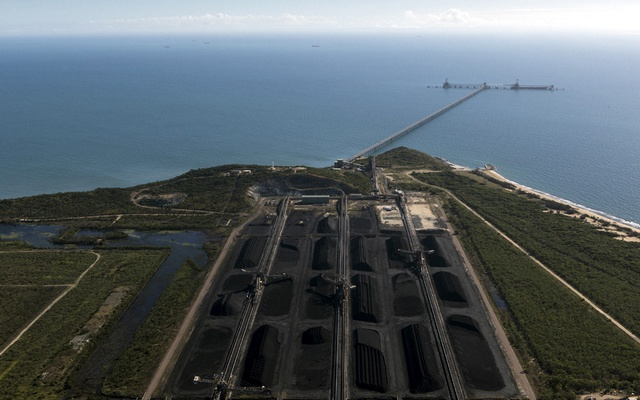 File Photo: The coal terminal at Abbot Point, Australia, near the Great Barrier Reef in Queensland on Jul 5, 2017. The New York Times