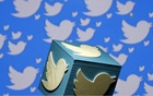 A 3D printed logo of Twitter is seen in this picture illustration. REUTERS
