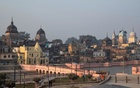 A general view of Ayodhya is seen after Supreme Court's verdict on a disputed religious site, India, November 10, 2019. REUTERS