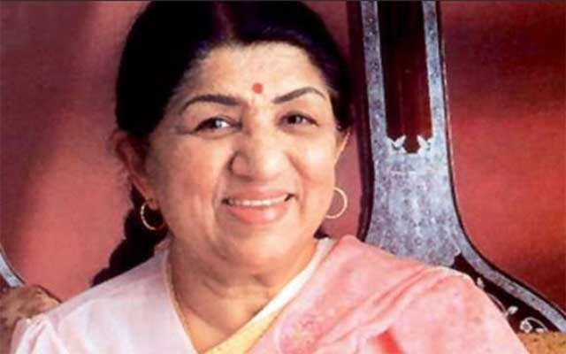 Indian singing legend Lata Mangeshkar