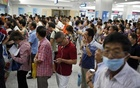 Representational Image: People queue at a hospital in Shanghai, September 2, 2014. Reuters