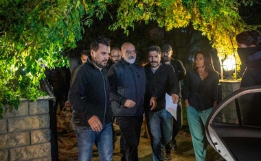 The journalist Ahmet Altan being taken into custody by the police on Tuesday. The New York Times