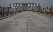 A reeducation camp for ethnic Uighur in Hotan, in China's Xinjiang province, Aug. 4, 2019. Internal Chinese government documents obtained by The New York Times have revealed new details on the origins and execution of China's mass detention of as many as one million Uighurs, Kazakhs and other predominantly Muslim minorities in the Xinjiang region. (Gilles Sabrié/The New York Times)
