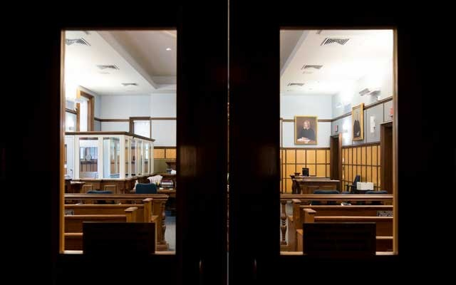 Newton District Court, where Judge Shelley Joseph, a former prosecutor and defence attorney, was a visiting judge at the courthouse, occasionally hearing cases on Tuesdays, in Newton, Mass., on Thursday, Oct 10, 2019. The New York Times