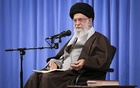In a photo from the Office of the Iranian supreme leader, Ayatollah Ali Khamenei, the supreme leader of Iran, speaks to clerics in Tehran, Nov 17, 2019. The New York Times