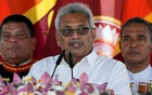 Blessed by Buddhist monks, Sri Lanka's new president prioritises security