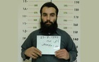 FILE PHOTO: Anas Haqqani, a senior leader of the Haqqani network, arrested by the Afghan Intelligence Service (NDS) in Khost province is seen in this handout picture released Oct 16, 2014. REUTERS