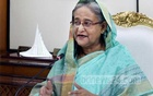 Prime Minister Sheikh Hasina speaks ahead of a presentation on the government's plans to implement Vision 2041 programme aimed at transforming Bangladesh into a developed country within the next two decades.