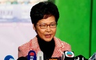 UK welcomes Hong Kong's Lam promise to reflect seriously after election