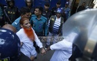 Eight militants charged in Holey Artisan case arrive in court