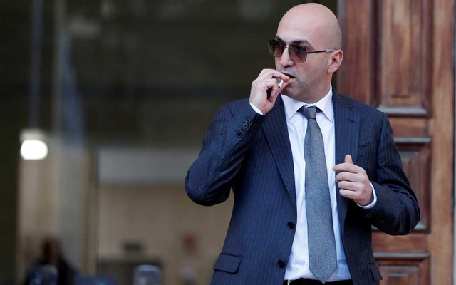 Maltese businessman Yorgen Fenech, who was arrested in connection with an investigation into the murder of journalist Daphne Caruana Galizia, leaves the Courts of Justice in Valletta, Malta, November 29, 2019. Reuters