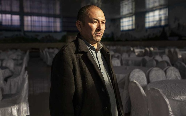 Hajji Hussain, the owner of a wedding hall attacked by the Islamic State, killing 63 people, in Kabul, Afghanistan, Nov. 18, 2019. Offensives against the Islamic State's Afghan branch have brought it down to several hundred fighters, officials say. But they warn that the group's cruelty is still a threat. (Jim Huylebroek/The New York Times)