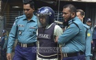Rakibul Hasan Regan, the militant sentenced to death for the 2016 Holey Artisan attack, was produced in Dhaka's anti-terrorism tribunal on Tuesday for the hearing of a case over the deadly raid on a house in Kalyanpur around a month after the cafe attack.