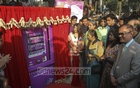 Education Minister Dipu Moni inaugurated a sanitary napkin vending machine installed at the Teacher-Student Centre of Dhaka University TSC on Wednesday. Photo: Mahmud Zaman Ovi