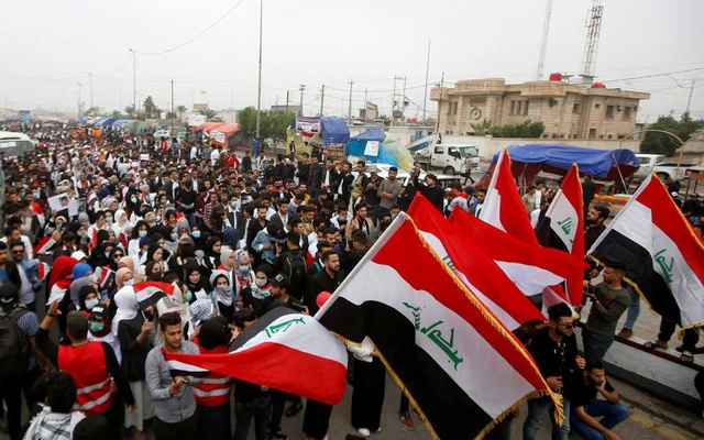 American officials said that Iran had capitalised on unrest in Iraq, where protesters demonstrated this week in Basra.The New York Times