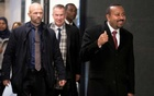 2019 Nobel Peace Prize laureate, Ethiopia's Prime Minister Abiy Ahmed, arrives at the airport in Oslo, Norway, Dec 9, 2019. REUTERS