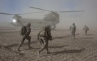 American soldiers with the 101st Airborne Division during a morning helicopter raid in the village of Alam Khel, Afghanistan, Jan 23, 2011. The New York Times