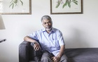 Indian author Perumal Murugan in New Delhi, Aug. 22, 2016. (Vivek Singh/The New York Times)