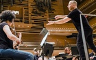Yannick Nezet-Seguin conducts the Orchestra Metropolitain in Montreal during a rehearsal on Nov. 14, 2019. The Quebec-born music director has soared to the peak of his profession thanks to his precocious talent and a belief in