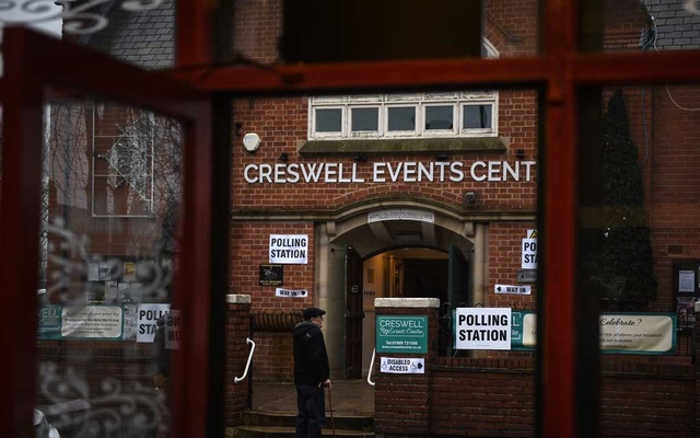A polling location in Creswell, England, part of a constituency that had been held by the Labour Party's Dennis Skinner for 49 years, Dec 12, 2019. The New York Times