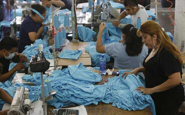 Representational Image: Garment workers sew t-shirts at the American Apparel factory in downtown Los Angeles. Reuters